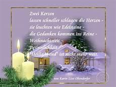 karins gedichte zweiter advent