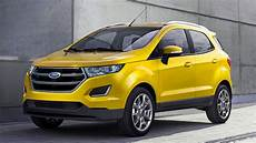 2016 ford ecosport facelift with new edge s front fascia
