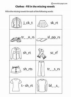 worksheets clothing 18811 9 best clothes images on grammar language and class