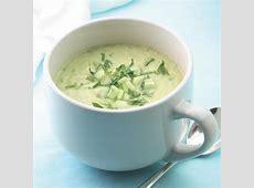 creamy avocado soup_image