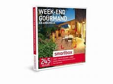 Coffret Cadeau Week End Gourmand En Amoureux Smartbox