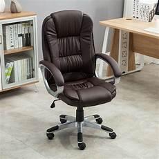 executive high back pu leather computer desk ergonomic