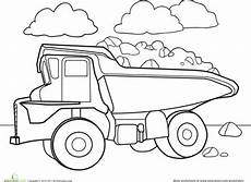car coloring pages for preschoolers 16492 color a car dump truck truck coloring pages coloring pages preschool coloring pages