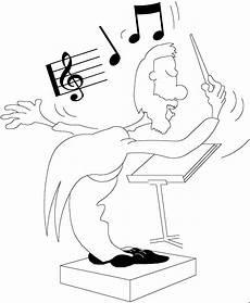Malvorlagen Noten Kostenlos Dirigent Mit Noten 2 Ausmalbild Malvorlage Musik