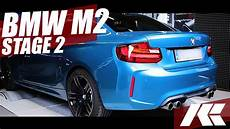 bmw m2 stage 2 software downpipe tuning powered by kuzka performance youtube