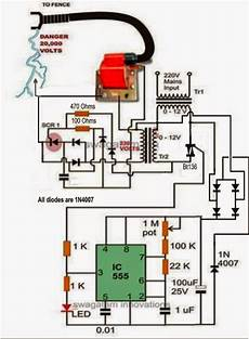 Electronic Circuit Projects A Fence Charger