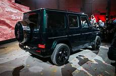 the all new 2019 mercedes g550 debuts in detroit
