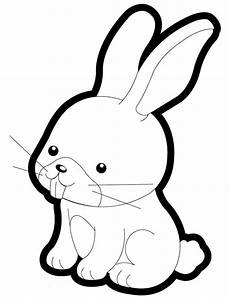 60 rabbit shape templates and crafts colouring pages