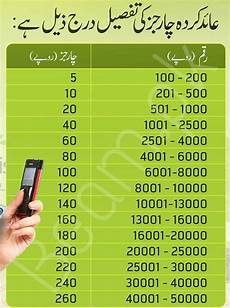 jazz cash charges easypaisa increased cash withdrawal charges for mobile account
