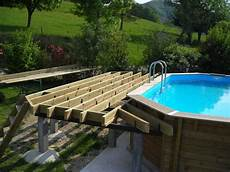 infos sur photo piscine hors sol avec terrasse bois