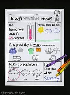 weather activity worksheets for kindergarten 14490 weather activities playdough to plato