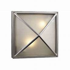 deco square silver 12 1 2 quot wide outdoor wall light h4504 ls plus