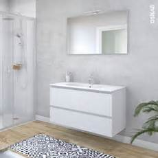 ensemble salle de bains meuble ipoma blanc mat plan vasque