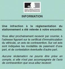 avis de contravention stationnement sans pv gestion du stationnement par les communes auto ies
