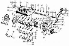 1967 75 Pontiac V8 Engine Block