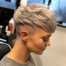 very short shaved pixie haircuts messy pixie haircuts to refresh your face women short hairstyles 2020