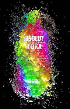Absolut Colors By Txaber Via Behance Typography Poster
