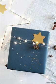 geschenkverpackung mit integrierter lichterkette selber