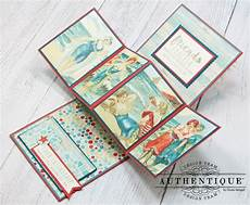 pop up card for your bff authentique sea maiden collection cards paper pocket scrapbooking