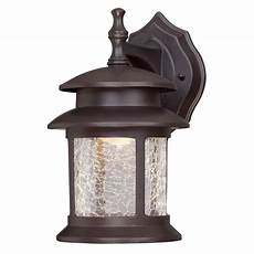 westinghouse 1 light rubbed bronze outdoor integrated led wall lantern sconce 6400300 the