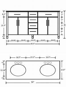 Dimensions Of Bathroom Vanity by Bathroom The Most Bathroom Vanity Sizes Chart