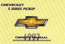 car repair manuals online pdf 1993 chevrolet s10 navigation system chevrolet s10 1997 owner s manual pdf online download