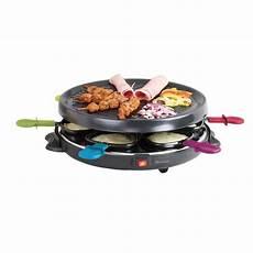 appareil a raclette appareil 224 raclette et grill 6 personnes domoclip mathon fr