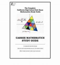 cahsee mathematics study guide simplified solutions for math inc 9780578013657