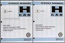 2004 buick lesabre repair shop manual original 2 volume set 2005 buick lesabre repair shop manual original 2 volume set