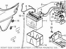 honda cb650sc nighthawk 1983 d usa parts list partsmanual partsfiche