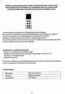 radiateur electrique thermor mode d emploi notice du radiateur delonghi navy