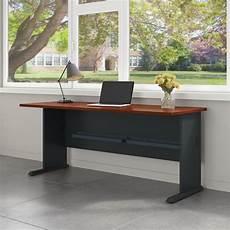 bush home office furniture bush business furniture series a 72w desk in hansen cherry