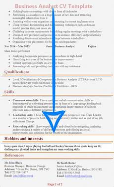 hobbies personal interests cv section