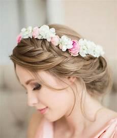 préparer des chignons de chignon fleur mariage boh 232 me
