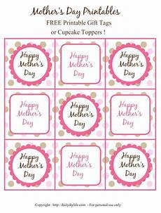 free printable mothers day tags 20615 s day free printable gift tags or cupcake toppers