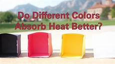 does the color of a car affect the insurance rate do different colors absorb heat better