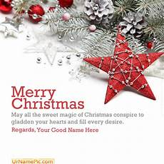merry christmas name picture christmas cards name generator
