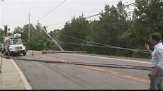 hwy 30 closed highway 30 closed in cedar hill after semi truck hits power lines ksdk com
