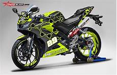 R15 Modifikasi Motogp by Modifikasi Striping Yamaha All New R15 Black The Maniac