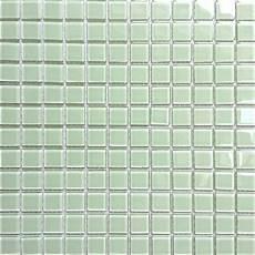 1qm glas mosaik fliesen matte in hellem gr 252 n mt0021 m2