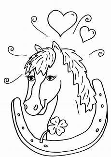 ausmalbilder zum ausdrucken kostenlos pferde ausmalbilder
