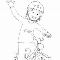Ausmalbild Conni Fahrrad Conny Malvorlagen Coloring And Malvorlagan