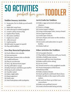 activity list 50 perfectly simple toddler activities to try at home hoawg