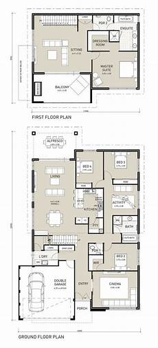 4 bedroom double storey house plans floor plan friday two storey four bedroom with private