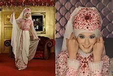10 Ide Jilbab Pengantin Tutorial