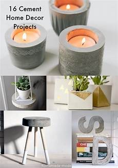 diy projects home decor 16 concrete diy projects for home decor diycandy