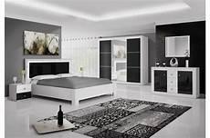 chambre meuble blanc chambre 224 coucher moderne blanc et noir laqu 233 cbc meubles