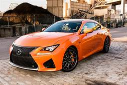 2016 Lexus RC F Review – The Fastest Pumpkin Around