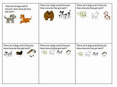 simple division worksheet dog biscuits by claireh1039 teaching resources tes