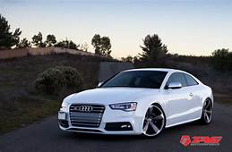 Audi S5 With Rims  Hint Of RS 2013 On OEM RS5